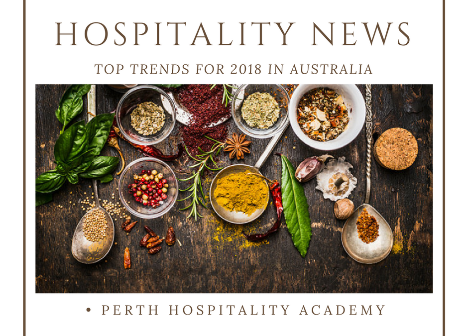 The big trends for Australian Hospitality for 2018