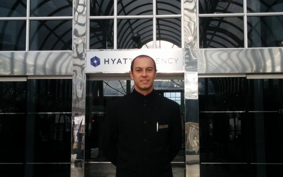 Jorge Moreno Florez: Hospitality Graduate from Colombia