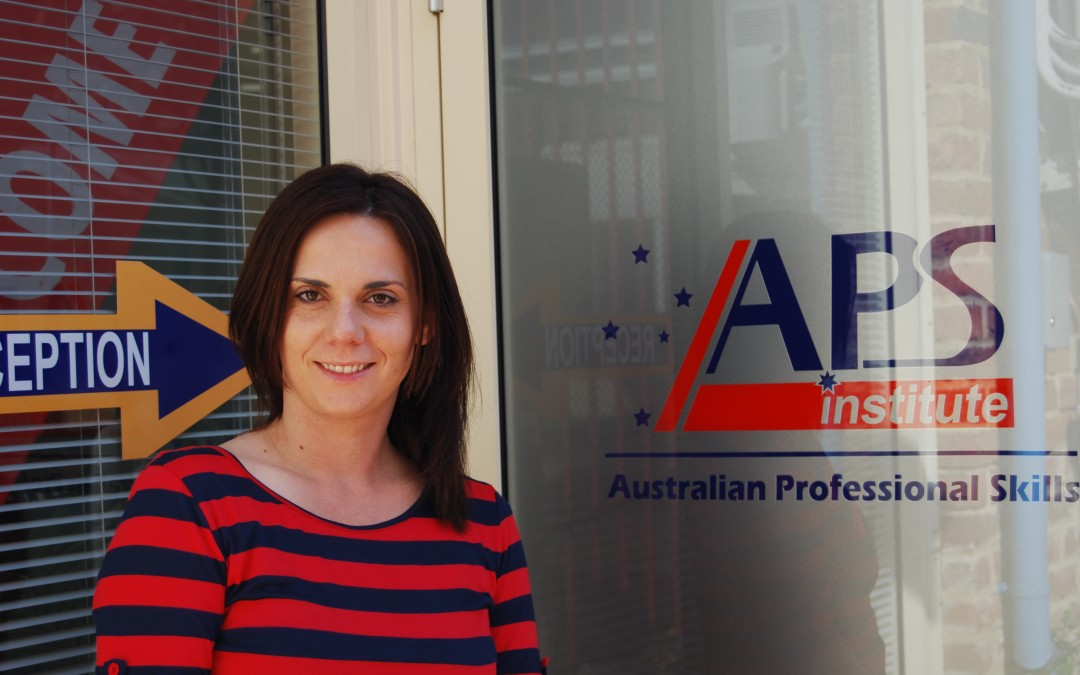 Marija Krsteska – Advanced Diploma of Management student from Macedonia