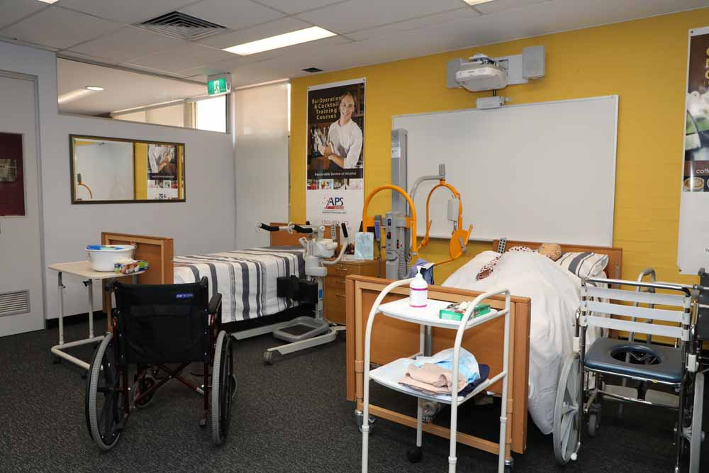 aged Care Training equipment
