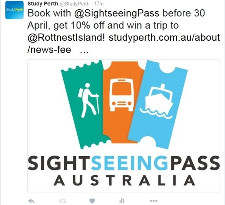 StudyPerth provides international students with discounted experiences